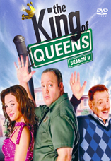 DVD-Cover: King of Queens <br> <font color=silver>Staffel 9</font>, mit Kevin James, Leah Remini, Jerry Stiller, Victor Williams, Merrin Dungey, Patton Oswalt, Gary Valentine, Lou Ferrigno, ...